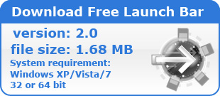 Download Free Launch Bar